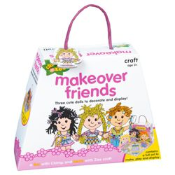 Chimp and Zee Makeover Friends Craft Activity Set