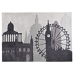 Buy Tesco Rugs London Skyline Rug 120x170cm From Our