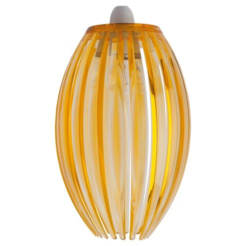 Tesco Lighting Marti Nonelec Acrylic Pendant Yellow