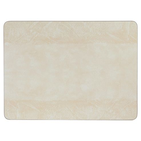 Tesco Value Set of 4 Placemats