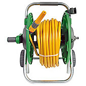 Hozelock Hose Reel Cart with 50m Hose