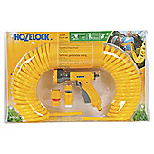Hozelock Spiral Hose Starter Set, 15m