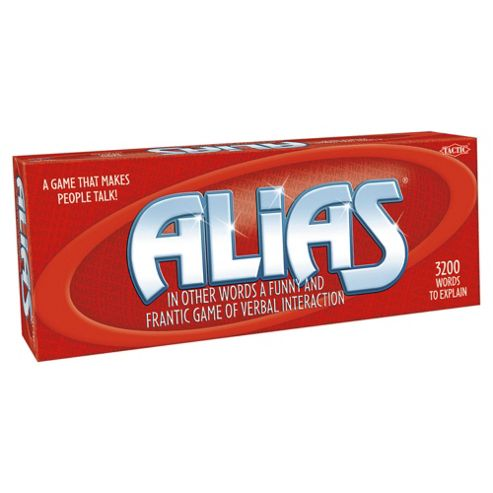 Alias Tatic Board Game
