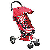 Easy Fold Layback Pushchair, Red