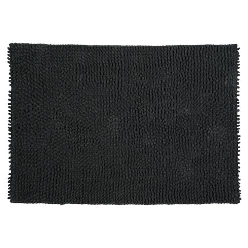 Tesco Chenille Loop Mat Black