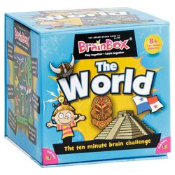 Brainbox The World Card Game