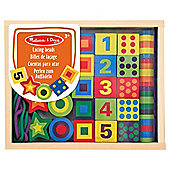 Melissa & Doug Wooden Lacing Beads In A Box