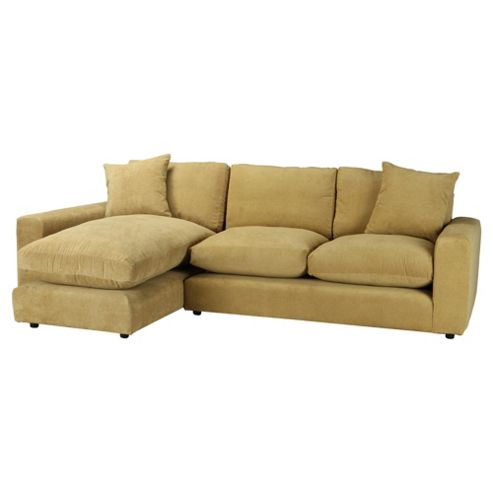 Valentino Chaise Sofa Pistachio Left Hand Facing