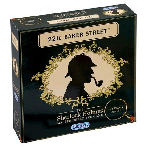 Sherlock Holmes 221b Baker Street Detective Game