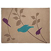 Tesco Rugs Birds rug 120x170cm