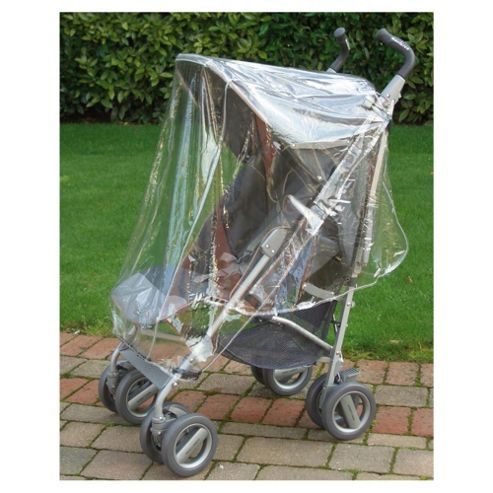 Universal Buggy Rain Cover, Transparent