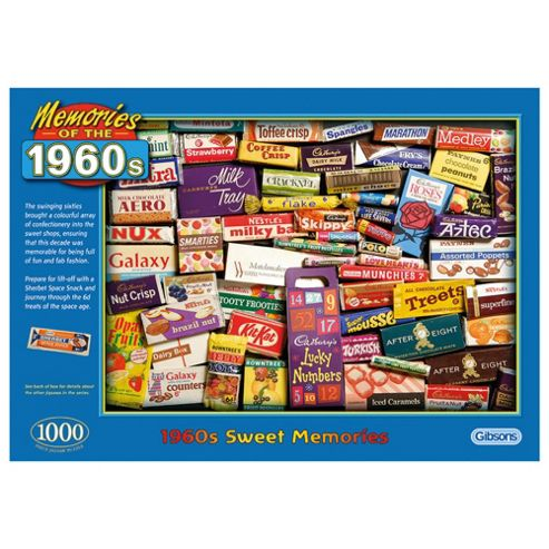 1960S Sweet Memories 1000 Piece Jigsaw