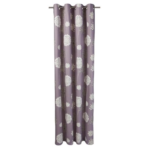 Tesco Meadow Print lined eyelet Curtains W163xL137cm (64x54