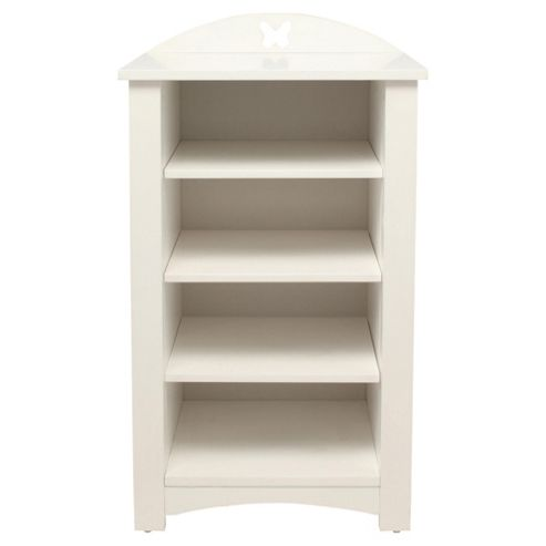 Butterfly White Bookcase