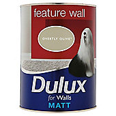Dulux Matt Feature Wall Overtly Olive 1.25l