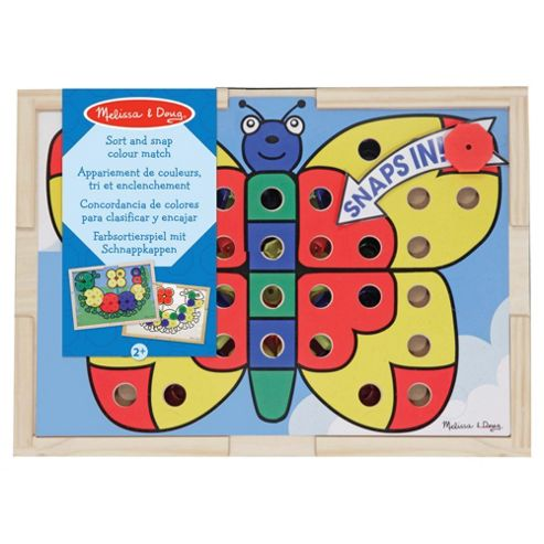 Melissa & Doug Sort Snap Colour Match