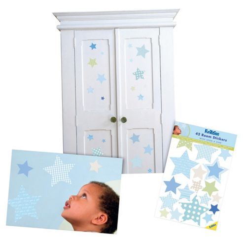FunToSee Wish Upon a Star Nursery Wall Stickers