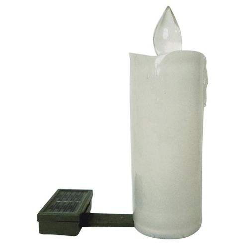 Solar Candle With White LED