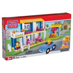 Mega Bloks Bloktown Deluxe Playset House