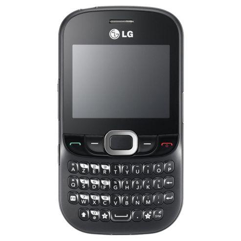 Tesco Mobile LG C360 Black