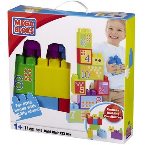 Mega Bloks Maxi Big Build 123 Box