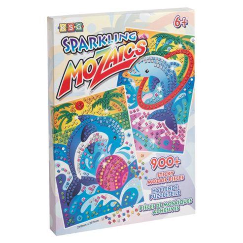 Sparkling Mozaics Dolphins