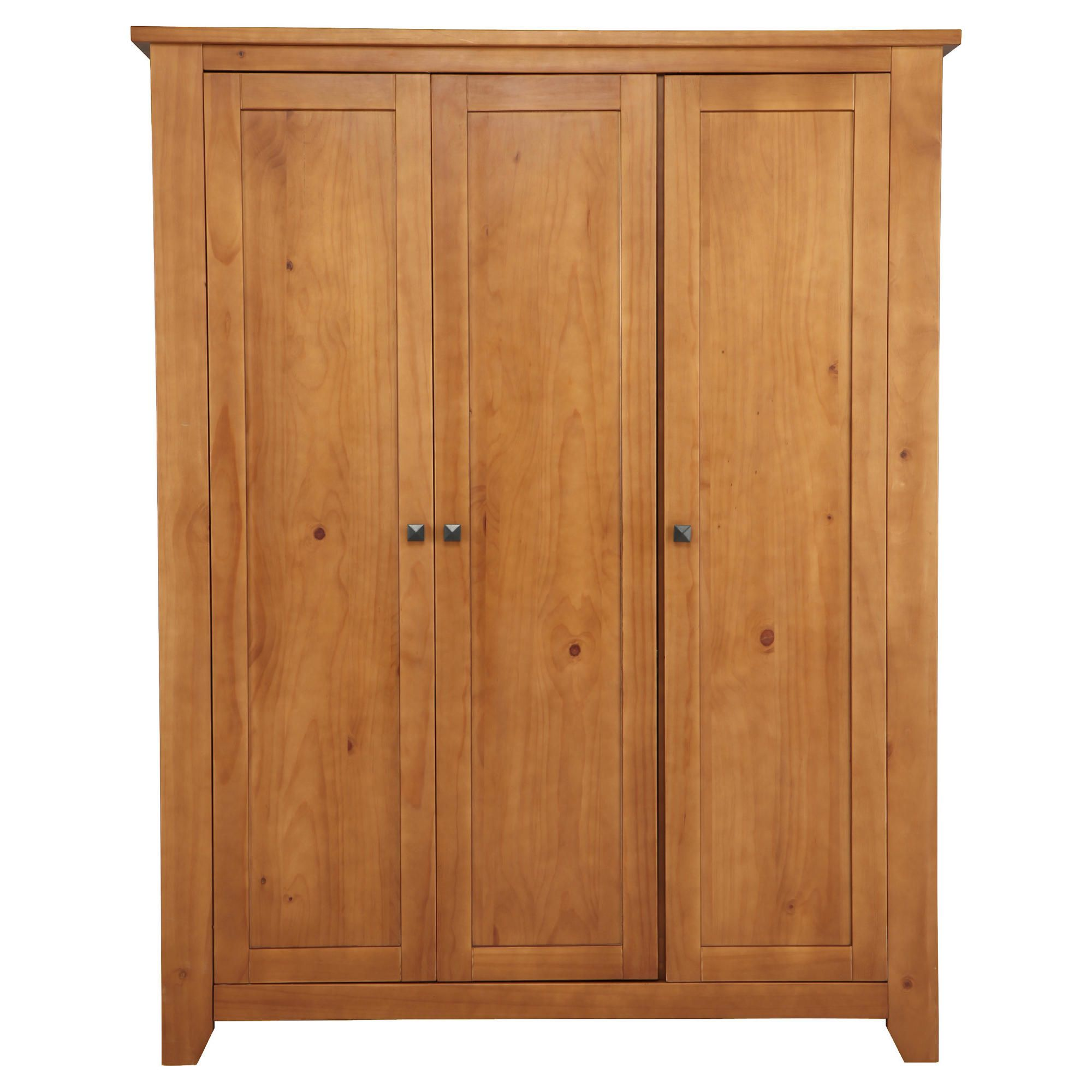 Suffolk Triple Wardrobe, Pine at Tesco Direct
