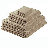 F&F home Pebble Towel Bale Taupe