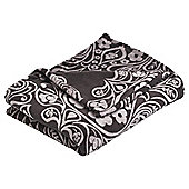 Tesco Damask Throw, Black