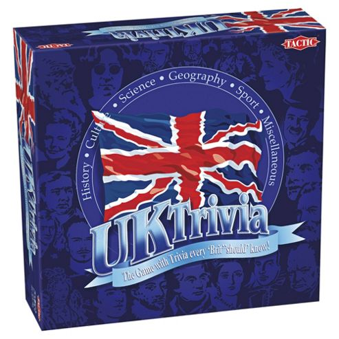 UK Trivia Board Game