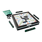 Scrabble Deluxe Tile Lock Game Board