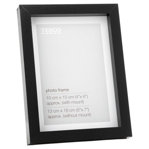 Tesco Black Frame 5x7