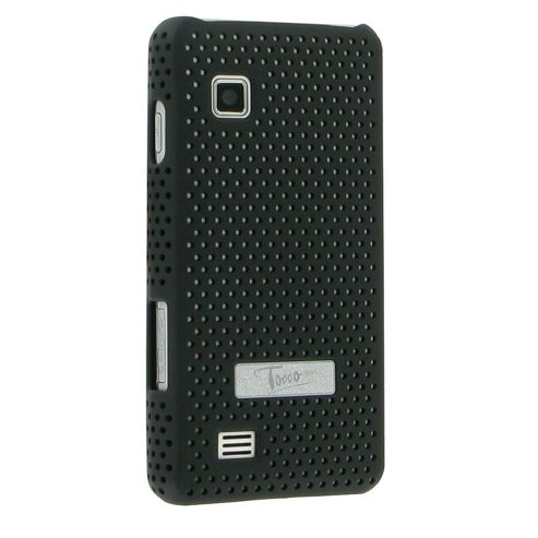 Samsung SAMTICCBK Tocco Icon Metal Look Cool Case Black