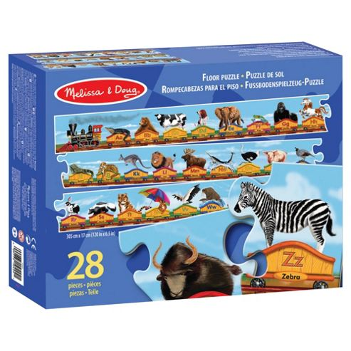 Melissa & Doug Alphabet Train Floor Jigsaw Puzzle