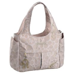 Okiedog Bliss Celeb Tote Baby Changing Bag, Beige