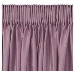 Tesco Faux Silk Lined pencil pleat Curtains W112xL183cm (44x72