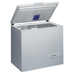 Whirlpool WH 3200 UK Chest Freezer, Freezer Capacity: 325 Litres, Energy Rating A, Width 112.0cm. White