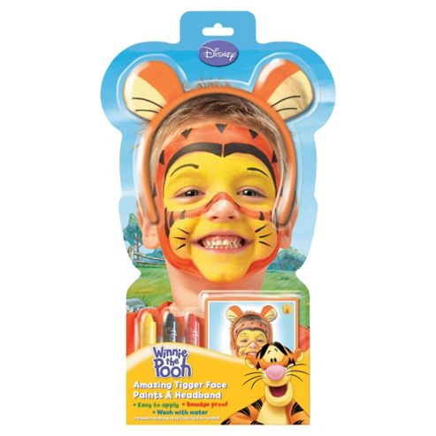Tigger Face Paint Set