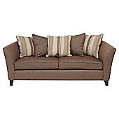 Oxford Large Fabric Sofa Mocha