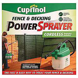 Cuprinol Fence & Decking Cordless Power Sprayer