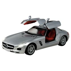 MeRC Toyedes Benz Car SLS AMG Silver 1:16 RC Toy Vehicle