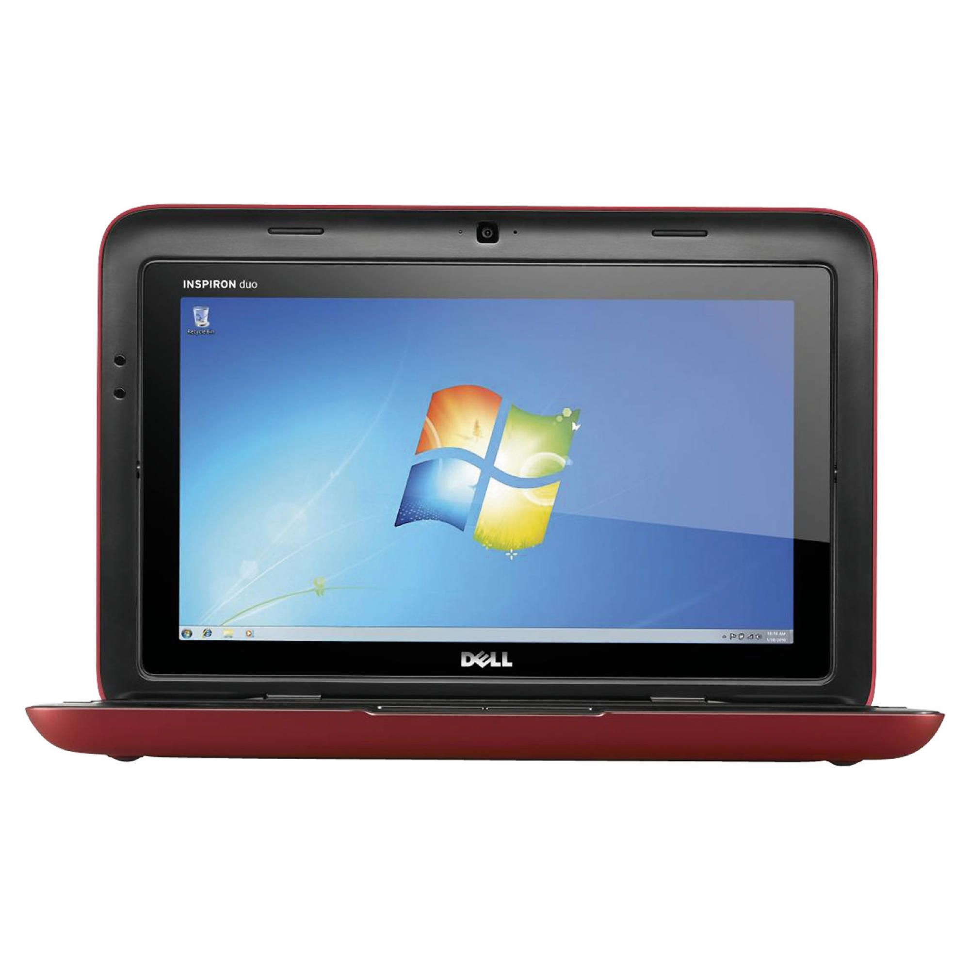 Dell Inspiron Duo Netbook (Intel Atom, 2GB, 320GB, 10.0'' Display) Red at Tesco Direct