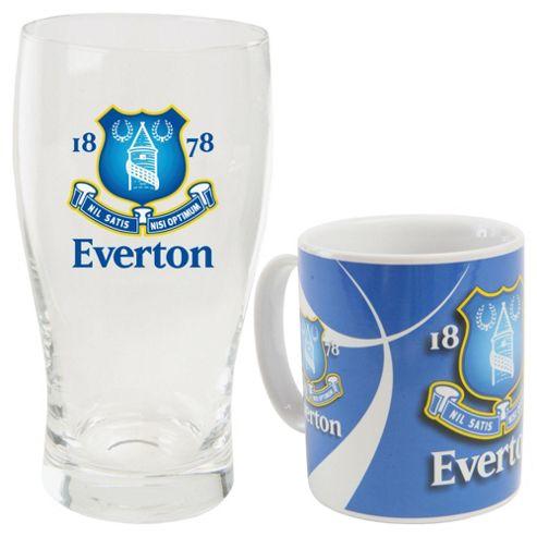 Everton Mug and Pint Glass