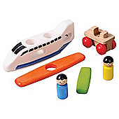 My Voila Airplane Wooden Toy