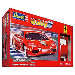 Revell Easykit Ferrari 360 Challenge Markus Lehner 1:32 Scale Model Set
