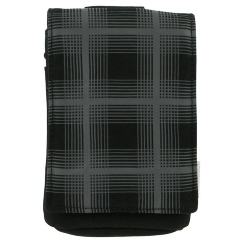 Trendz Universal Pouch Black and Grey Check