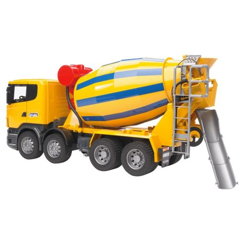Scania R-Series Cement Mixer Truck Yellow