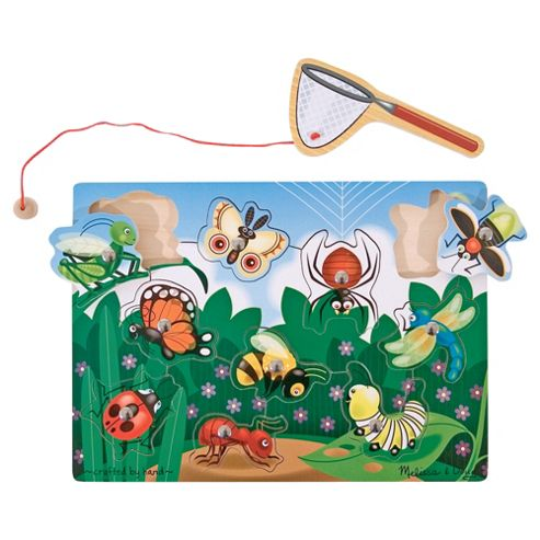 Melissa & Doug Bug Catching Magnetic Wooden Puzzle