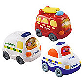 VTech Toot Toot Vehicles 3pack Emergency Set