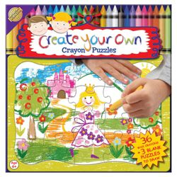 Create Your Own Jigsaw Puzzle 36 Crayons